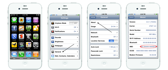 How to find out IMEI