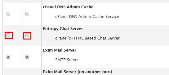 entropychat in service manager