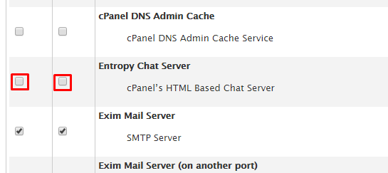 entropychat in service manager