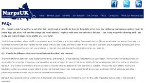 NarpsUK FAQ Before